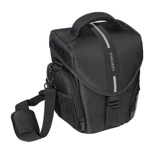 Pedea SLR-Kameratasche MIT Regenschutz Und Displayschutz F? R Nikon D500, D750, D5200/Canon EOS 70D, 77D, 200D, 550D, 1200D, 1300D/Panasonic Lumix G DMC-GH4, Grau-Intl