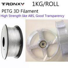 PETG 3D Plastic Filament, High Strength like ABS, Good  Transparency,Recyclable,Low shrinkage ,Ideal For Mechanical Parts  Fabrication,