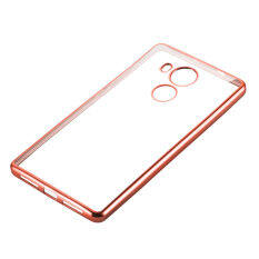 MYR 15 PinTo Electroplating Transparent soft Silicone TPU Case case For Huawei Mate 8 with HD