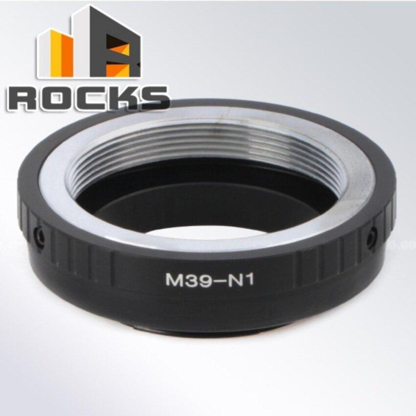 Lensa Pixco Cincin ADAPTER UNTUK M39 L39 39 Mm Sekrup Dudukan Lensa untuk Nikon1 J4 S2 V3 AW1 J3-Intl