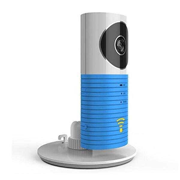 Plater Monitor Bayi Pintar Kamera Video WiFi dengan P2P Modus Malam Video Perekam Audio Dua Arah Gerakan Terdeteksi Dukungan TF Kartu untuk iPhone Android Smartphone (Biru) -Intl