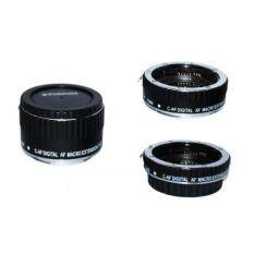 Polaroid Auto Focus DG Macro Extension Tube Set (13mm, 21mm, 31mm) For The Canon Digital EOS Rebel SL1 (100D), T5i (700D), T4i (650D), T3 (1100D), T3i (600D), T1i (500D), T2i (550D), XSI (450D), XS (1000D), XTI (400D), XT (350D), 1D C, 70D, 60D, 60Da