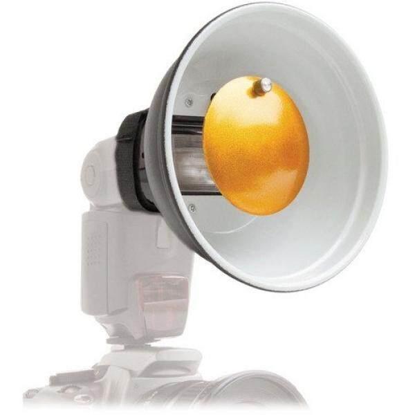 Polaroid Beauty Dish-Diffusor f?r Canon, Nikon, Olympus, Sony, Panasonic, Pentax, Sigma & andere externe Flash-Einheiten - intl