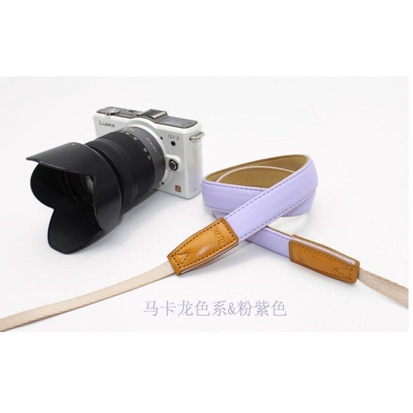 Kamera Polaroid dengan Mikro Kamera Tunggal Tali Shoulderstrap Lanyard RX100M5 XA3 A6000 XA10-Intl