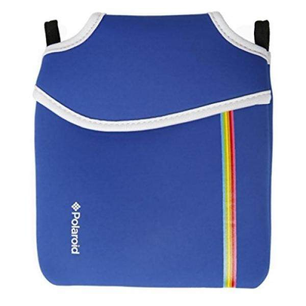 Polaroid Neoprene Pouch for The Polaroid Socialmatic 14MP Wi-Fi Digital Instant Print & Share Camera (Blue) - intl