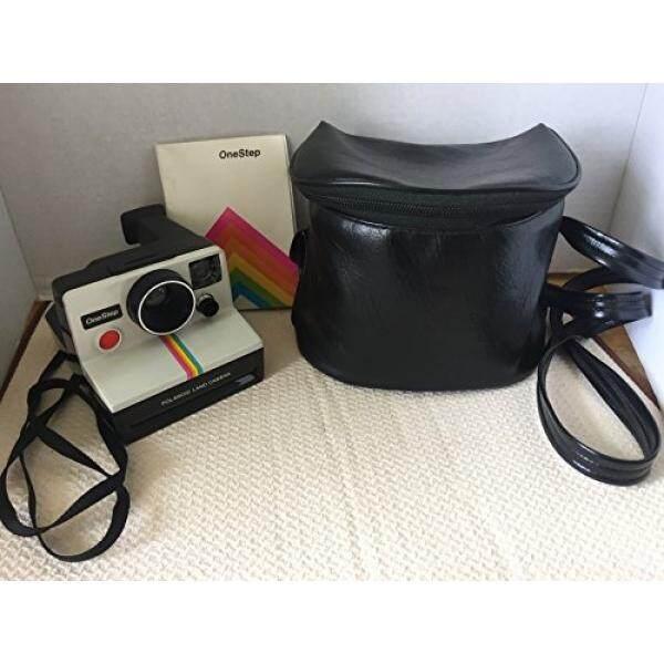 Polaroid OneStep SX-70 White/Rainbow Camera - intl