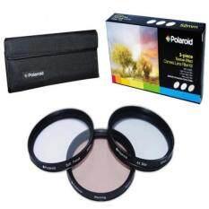 Polaroid Optics 3 Piece Special Effect Lens Filter Kit (Soft Focus, Revolving 4 Point Star, Warming) For The Canon Digital EOS Rebel SL1 (100D), T5i (700D), T4i (650D), T3 (1100D), T3i (600D), T1i (500D), T2i (550D), XSI (450D), XS (1000D), XTI (400D