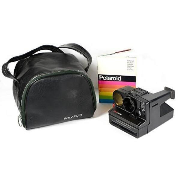Polaroid Pronto Sonar Onestep Instan Film Kamera Darat Dalam Tas dan Manual-Intl