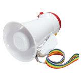 Portable Megaphone Bullhorn Loud Speaker Amplifier Bullhorn Voice Record Play