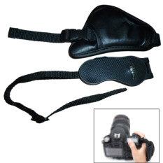 Portabel Pegangan Tangan Kulit Tali untuk Canon 6D Nikon D3000 D3100 D5100 Satu Lensa Reflek DSLR SLR Kamera Digital