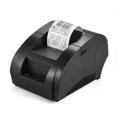 Pos-5890k 58mm Usb Thermal Printer Receipt Bill Ticket Pos Cash Drawer Restaurant Retail Printing Us Plug (black) By Tomnet.