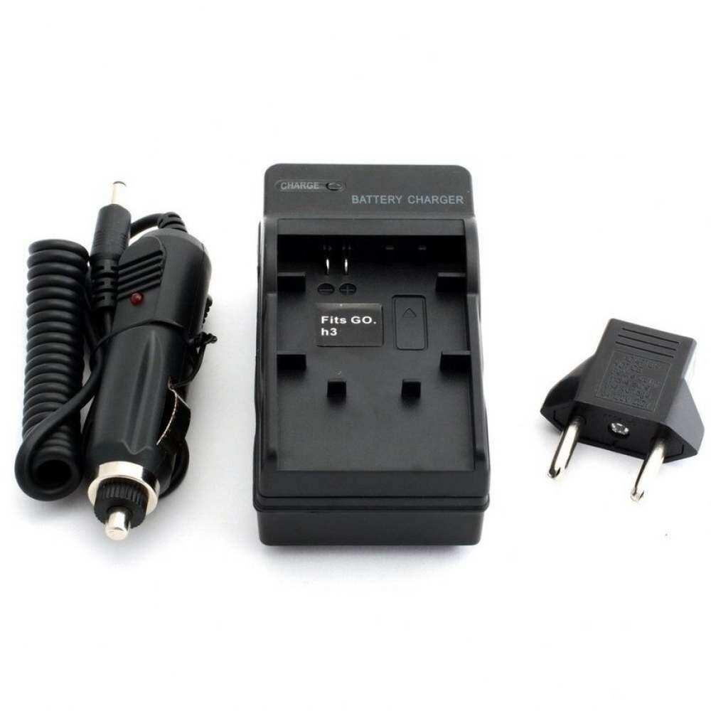 Qbsd Toko Prado2u Max Gear Mobil Pengisi Baterai Mobil Untuk Go Pro Kompatibel Actionsport DV Kamera Video Kamera HERO4 3 3 +