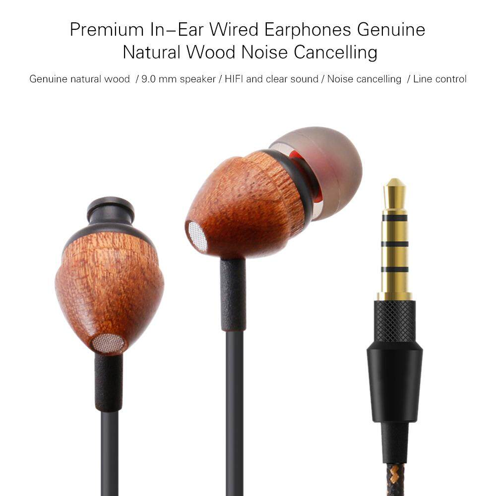Premium In-Ear Earbuds Wired Earphones Headphones with Microphone .