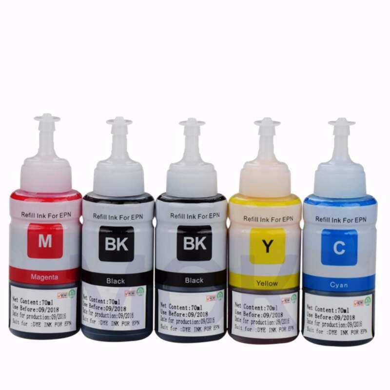 Printer ink Refill kit for Epson Ink Tank Printer L100 L110 L120 L220 L132 L210 L222 L300 L310 L312 L355 L350 L362 L385 L455 L485 L550 L565 L566 L655 L800 L805 L850 L1300 L1800 Inkjet Printer - intl