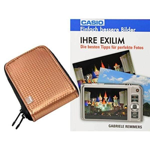 Progallio Sparset-Foto-Tasche Kameratasche Retro Case Perunggu Im Set MIT Fotobuch Ihre Exilim F? R Casio Exilim EX-N50 EX-N5 EX-N10 EX-N20 EX-ZS30 R300 Z690 Z28 ZS12 Q-R200 Q-VR300 ZS12 ZS30 Z28 S690 EX-ZR40-Intl