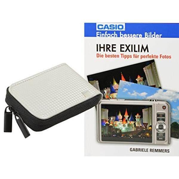 Progallio Sparset-Foto-Tasche Kameratasche Retro Case Weiss Im Set MIT Fotobuch Ihre Exilim F? R Casio Exilim EX-N50 EX-N5 EX-N10 EX-N20 EX-ZS30 R300 Z690 Z28 ZS12 Q-R200 Q-VR300 ZS12 ZS30 Z28 S690 EX-ZR40-Intl
