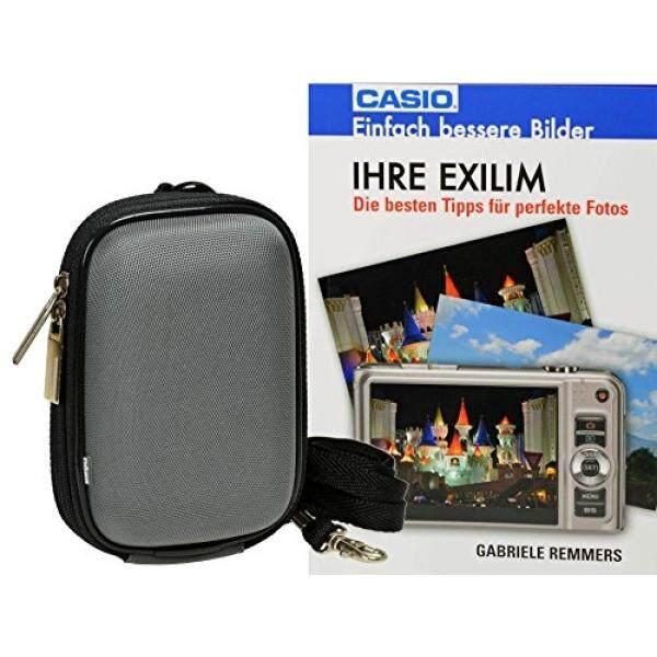 Progallio Sparset-Foto-Tasche Kameratasche TYP Hardbox Memom S Grau MIT Memoschaumpolsterung Im Set MIT Fotobuch Ihre Exilim f? R Casio Exilim ZS12 S690 ZS28 ZS30 QV-R200 QV-R300 N50-Intl