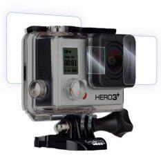 Proocam Pro-F137 Terbaik Bahan Lensa LCD Pelindung Layar untuk GoPro HERO 4 3 + 3