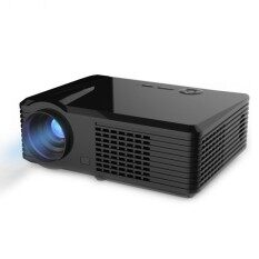 PRS220 2500 Lumens HD Digital LED Projector, Android 4.4 Cortex-A5 Quad Core 1.5GHz, RAM: 1GB, ROM: 8G, Support 1080P(Black)