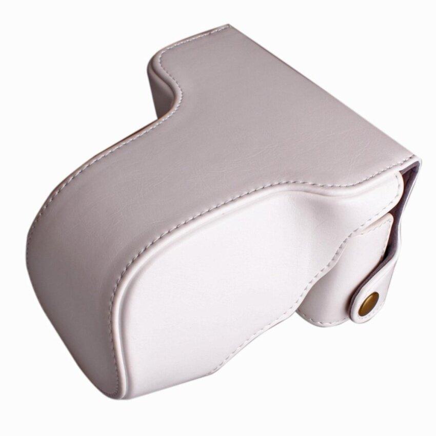 Pu Sarung Kamera Kulit Tas Penutup Tali Sling Kamera untuk FujifilmXM1XA1 XA2 XA10 X-M1 X-A1 X-A2 X-A10 16-50 Mm Lensa Digital Camerabag -Intl
