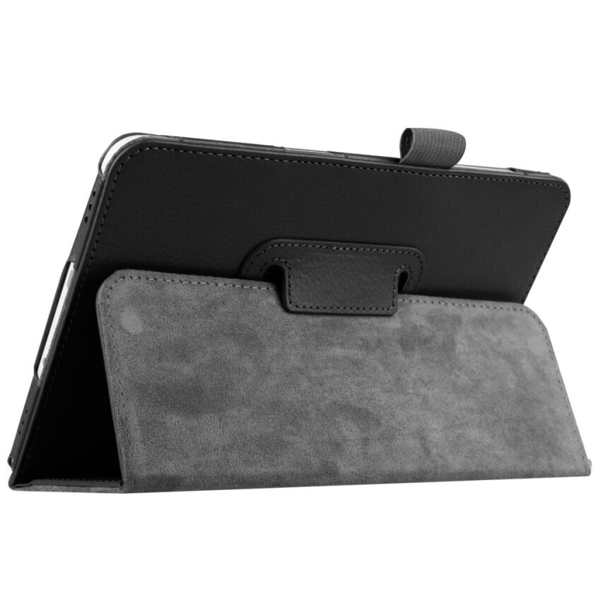 Pu Penutup Berbahan Kulit untuk Samsung Galaxy Tab S2 8?  X9D (Hitam)-Intl