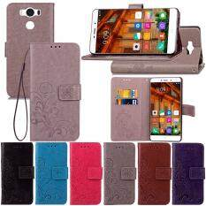 Hình ảnh thu nhỏ PU Leather Flip Wallet Case with Card Slot and Kickstand for Elephone