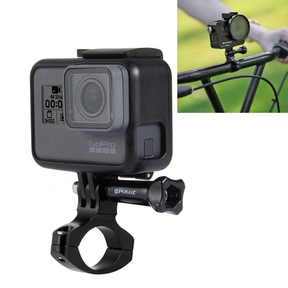PULUZ Bike Handlebar Adapter Aluminum Mount for GoPro HERO6 /5 /5 Session /4