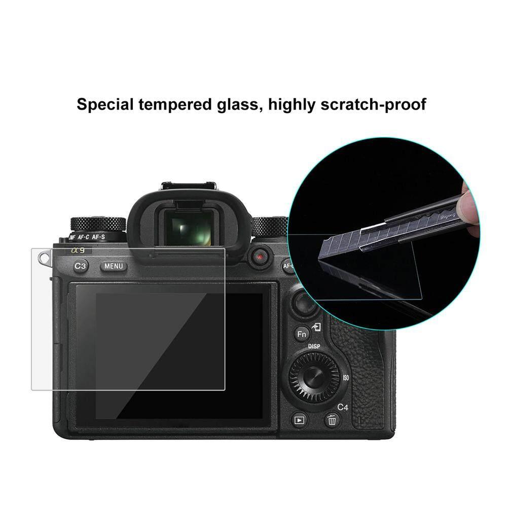 Puluz Kamera Layar Pelindung Films Polikarbonat Melindungi Film Anti-Menggaruk Kekerasan Kaca Melunakkan Layar Pelindung untuk Canon Sony Nikon panasonic FinePix Digital Olympus Aksesoris Kamera untuk Sony ILCE-9 (A9) -Internasional