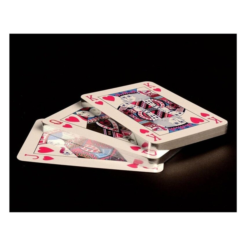 Purling London Luxury Playing Cards Single Deck - Royal Blue - intl