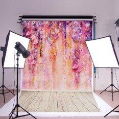 Purple Tree Creative Retro Wall Art Huge Silk Poster Romantic 35''X23''