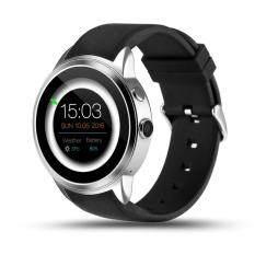 Pyialcy X200 Android 5.1 Heart Rate Smartwatch MTK6580 Mendukung 3G WIFI GPS Nano Kartu SIM Smartwatch dengan 2.0 Jam Tangan Kamera