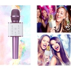 Q7 Karaoke Player Bluetooth Speaker Microphone Wireless Mic Ktv By Scarlett Electrical.