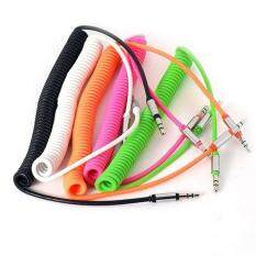 Rainbow Site Clearance Hot Products Car Auxiliary Coiled Stereo Audio Cable .
