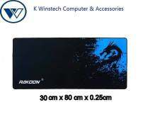 Rakoon gaming mouse pad -Blue Dragon (30cm x 80cm ) Malaysia