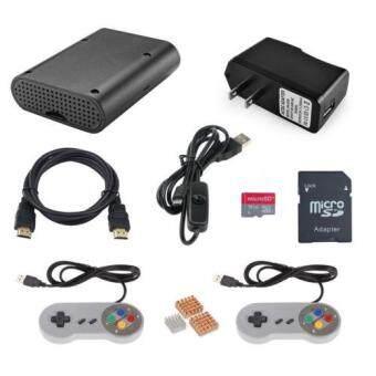 Raspberry Pi 3 Model B Retropie Game Console Accessories w/ Gamepad 16G SD Card