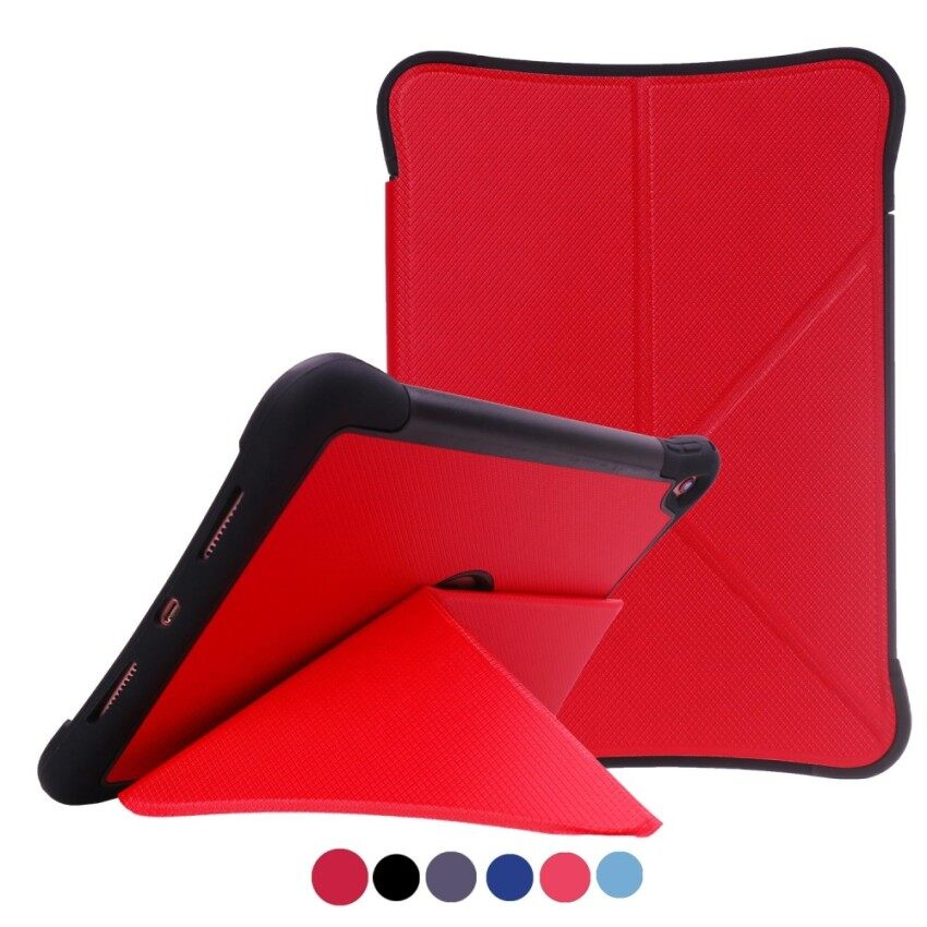 Siap Stok untuk Apple iPad Pro 9.7 (2016) cacat Origami Berdiri Anti Guncangan Tablet