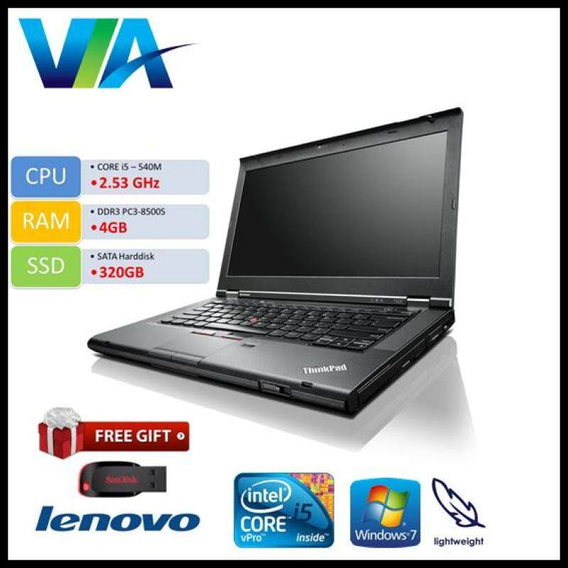 Refurb Lenovo ThinkPad T410 Core i5~4Gb~320Gb~W7 Pro Malaysia