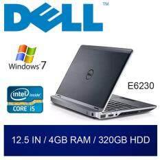 Refurbished Dell E6230 Laptop / 12.5 inch / Intel Core i5 / 4GB RAM / 320GB HDD / Windows 7 / One Month Warranty Malaysia