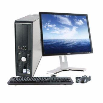 (REFURBISHED) Dell Optiplex 755 SFF C2D 2.X 2GB 160GB + 17 Inch Branded LCD Monitor Full Set