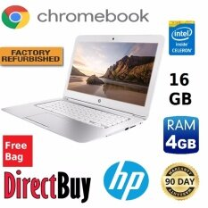 Refurbished HP 14 - SMB Chromebook 14 2955U 1.40 GHz 4GB RAM 16GB HDD Chromebook (White) Malaysia