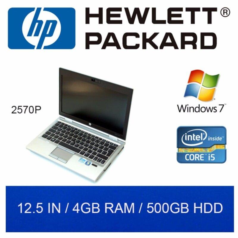 Refurbished HP 2570P Laptop / Euro KB / 12.5in / i5 / 4GB RAM / 500GB HDD / W7 / 1mth Warranty Malaysia