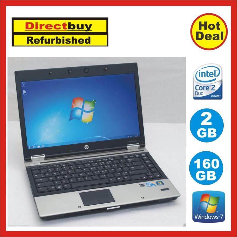 (Refurbished) HP Elitebook 6930p (Intel Core 2 Duo / 2.40GHz / 2GB Ram / 160GB HDD / 14 Inch ) Malaysia