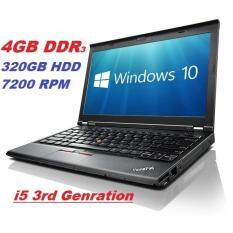 (REFURBISHED) LENOVO THINK PAID  X230 INTEL CORE i5 3RD GEN/4GB DDR3 /320GB HDD/INTEL HD GRAPHIC/12.5 DISPLAY/W7 PRO Malaysia