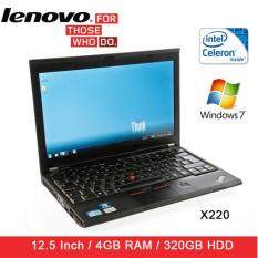 Refurbished Lenovo X220i Laptop / Celeron / 4GB RAM / 320GB HDD / Window 7 / 1 Mth Warranty Malaysia