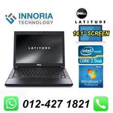 (Refurbished Notebook) DELL LATITUDE E6400 LAPTOP / Core 2 Duo / 14 LCD Screen / 80GB Hard Disk / 2GB Ram / DVD Writer / Windown 7 Malaysia