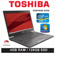 Refurbished Toshiba Z930- i7 third gen/4GB RAM/120GB SSD (win7) Malaysia