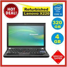 (Refurbished)Lenovo ThinkPad X220 Intel Core i5 2nd Gen 4GB 320GB Malaysia