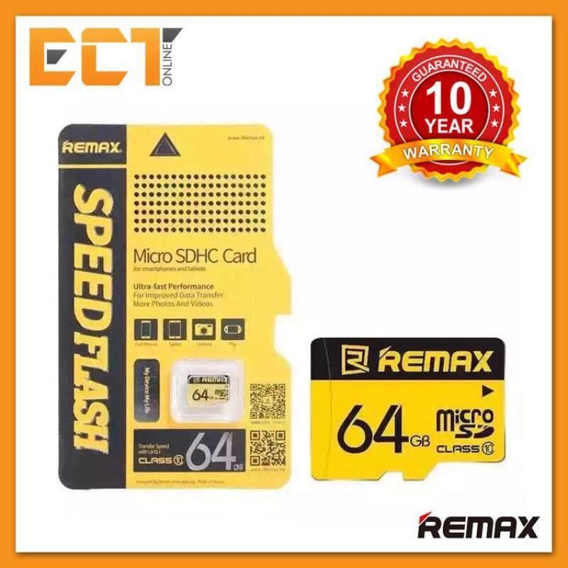 Remax 64GB Class 10 80 MB/giây Hiệu Suất Nhanh Thẻ Nhớ SDHC