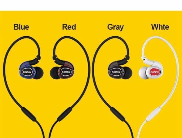 KAYO Remax RM-S1 Pro Sports Running Earphone Stereo Bass Headphones Handsfree Headset 3.5mm