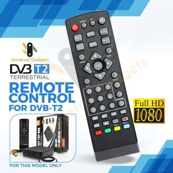REMOTE CONTROL FOR MYTV MYFREEVIEW DVB-T2 TV DECODER TUNER
